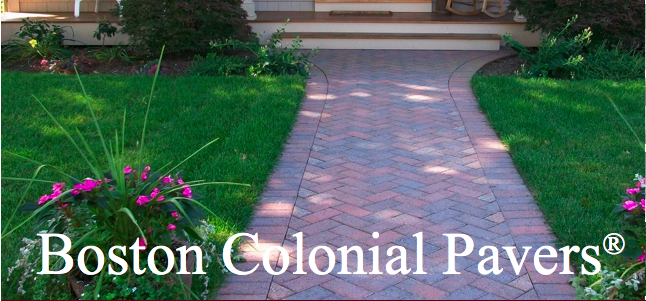 Ideal Boston Colonial Brick Walkway