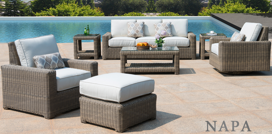 Napa All-Weather Wicker Patio Furniture