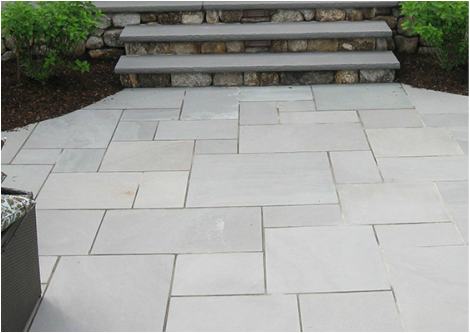 Blue Select Thermal Bluestone Patio
