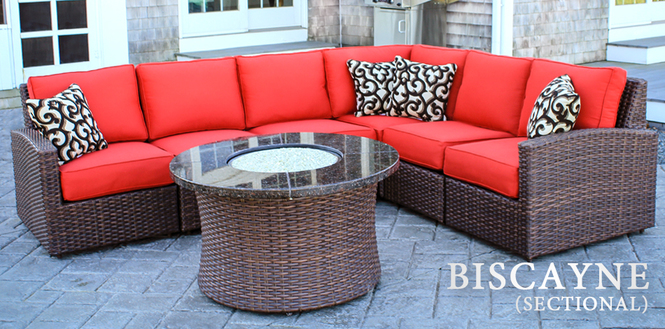 Biscayne All-Weather Wicker patio furniture